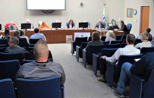The Planning Commission meeting on March 21 brought out an unusually large crowd as residents of Saddle Ridge subdivision attended and spoke about their traffic concerns.