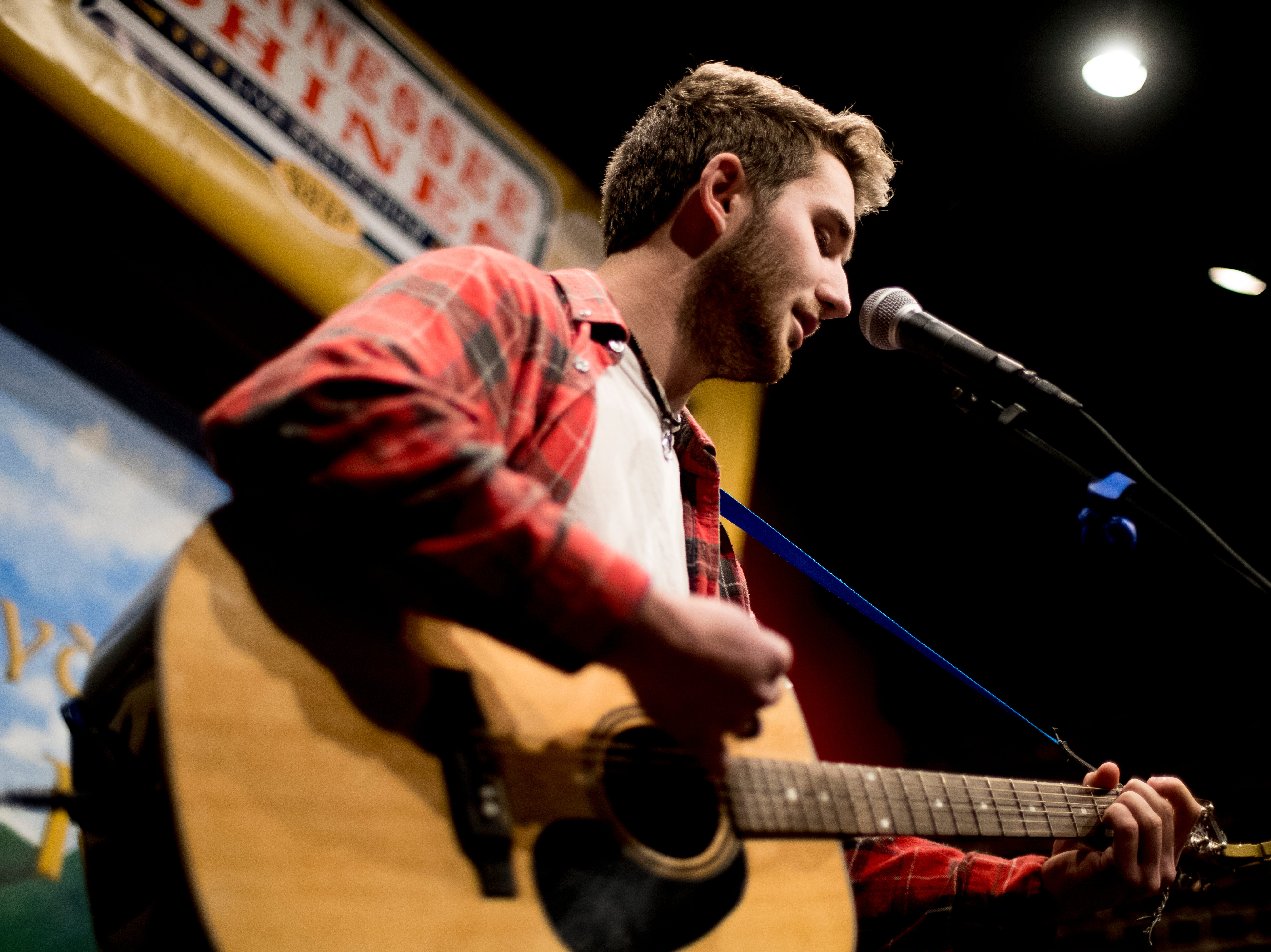 Jacob Clark performs at Boyd's Jig & Reel during Big Ears Festival 2019 in Knoxville, Tennessee on Thursday, March 21, 2019.