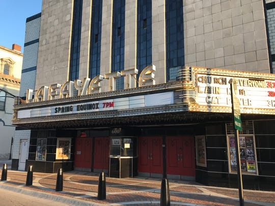 City Of Lafayette >> Bangert What S Next Lafayette Theater As City Readies To