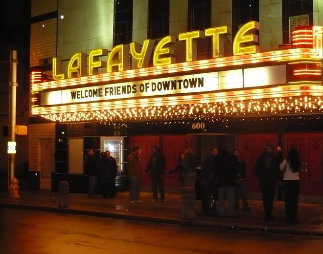 The city of Lafayette is finalizing a deal to buy the Lafayette Theater, 600 Main St. Mayor Tony Roswarski says he wants to see the theater, with a capacity of 1,012, busier and a driver of night life in downtown Lafayette.