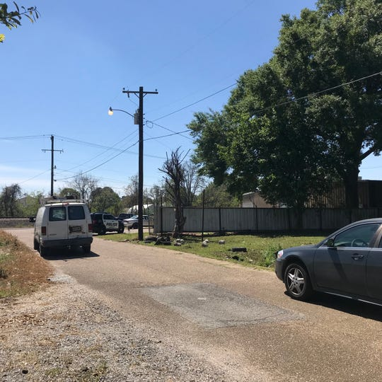 An unidentified woman's body was found in the 100 block of Philomine Street on Friday, March 22, 2019.