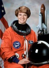 Space shuttle commander Eileen Collins