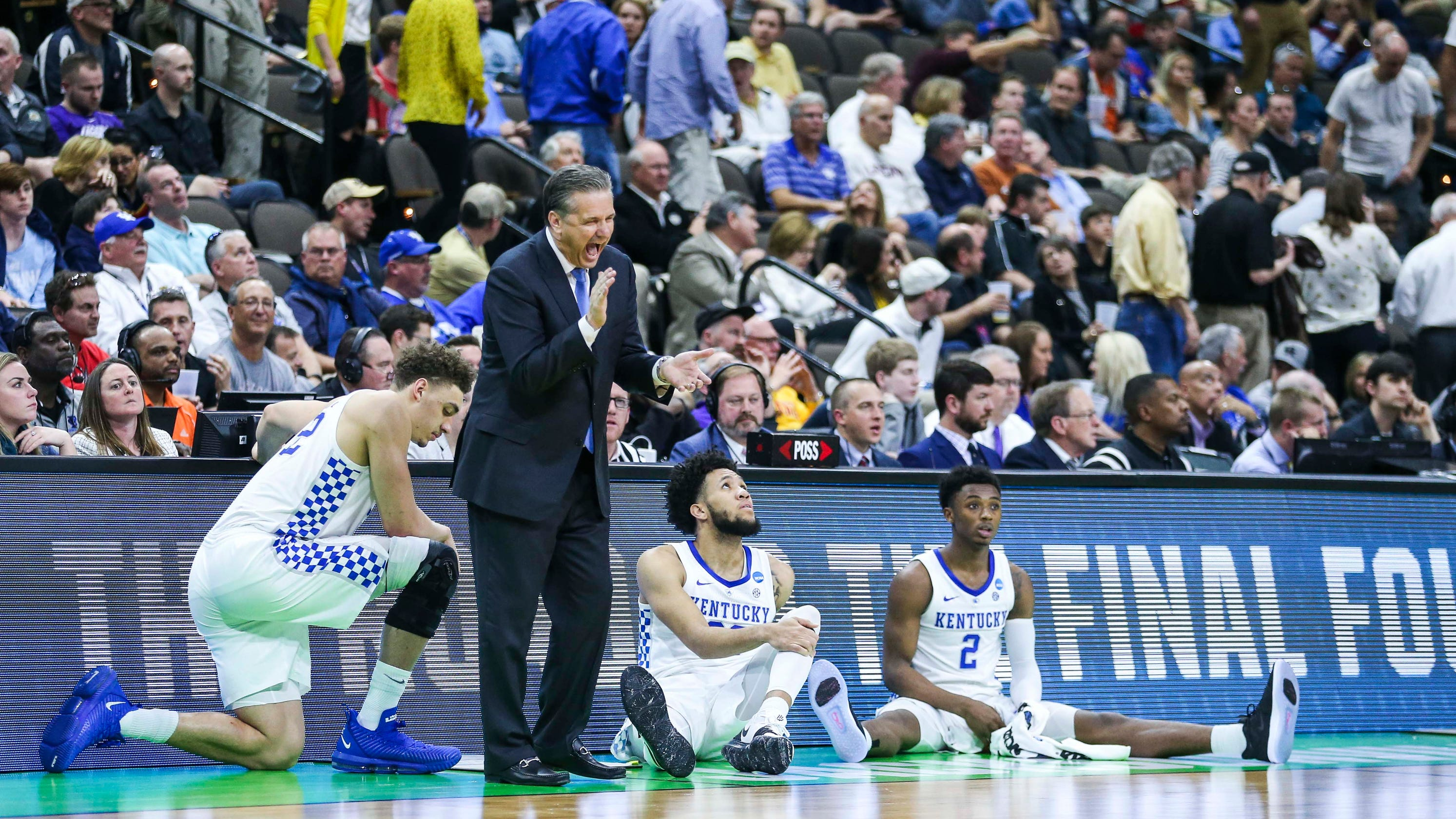 san francisco 5a49b 9aaef March Madness  NCAA Tournament outlook assessed for Kentucky Wildcats, Ohio  State Buckeyes