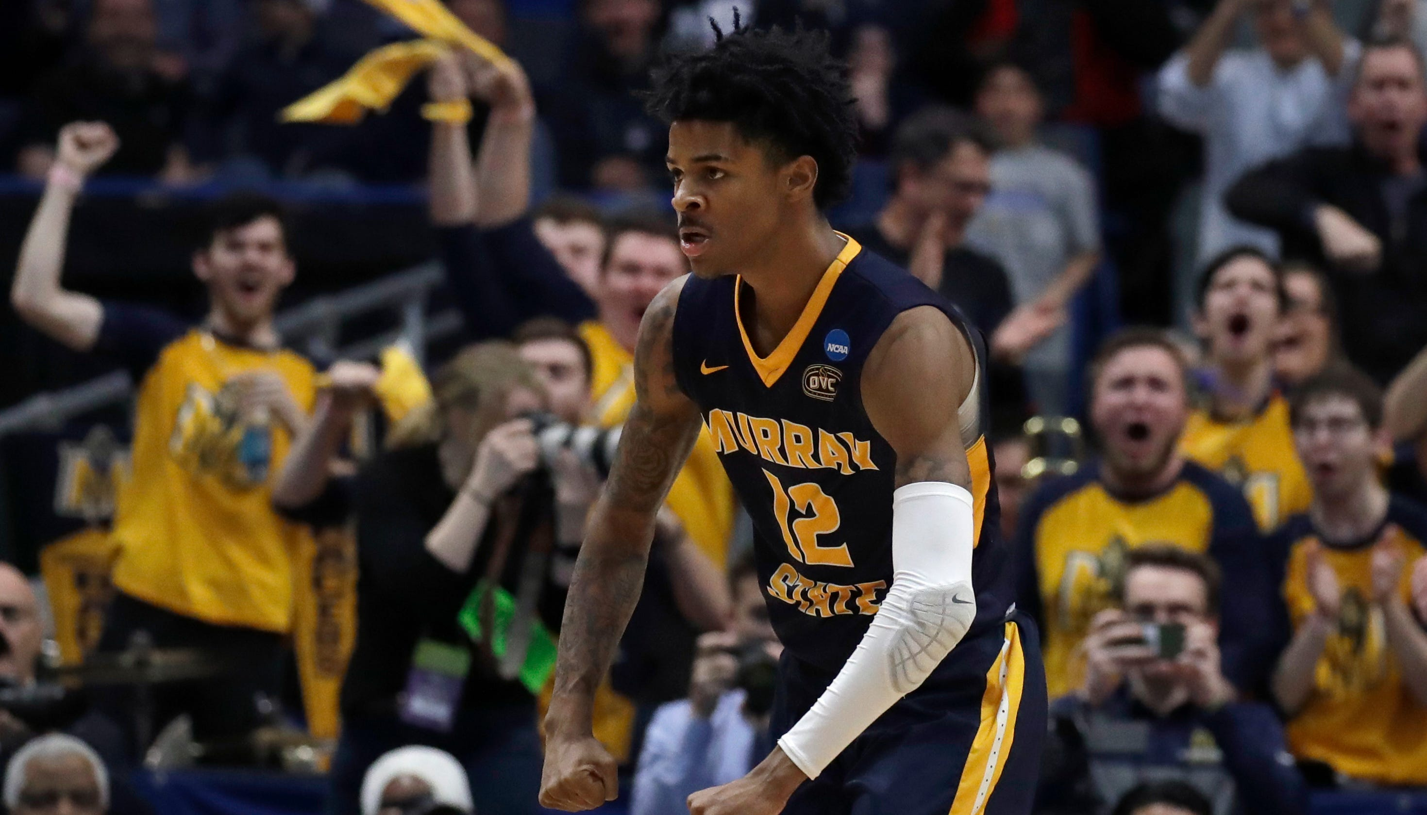 NBA Draft 2019: Ja Morant of Murray State picked by Memphis