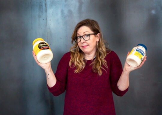 Annie Pettry owner/chef Decca took part in a Mayonnaise taste test for Garden & Guns magazine.