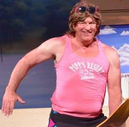Manitowoc Capitol Civic Centre: Sweatbands, tube socks, '80s gym styles in comedy musical