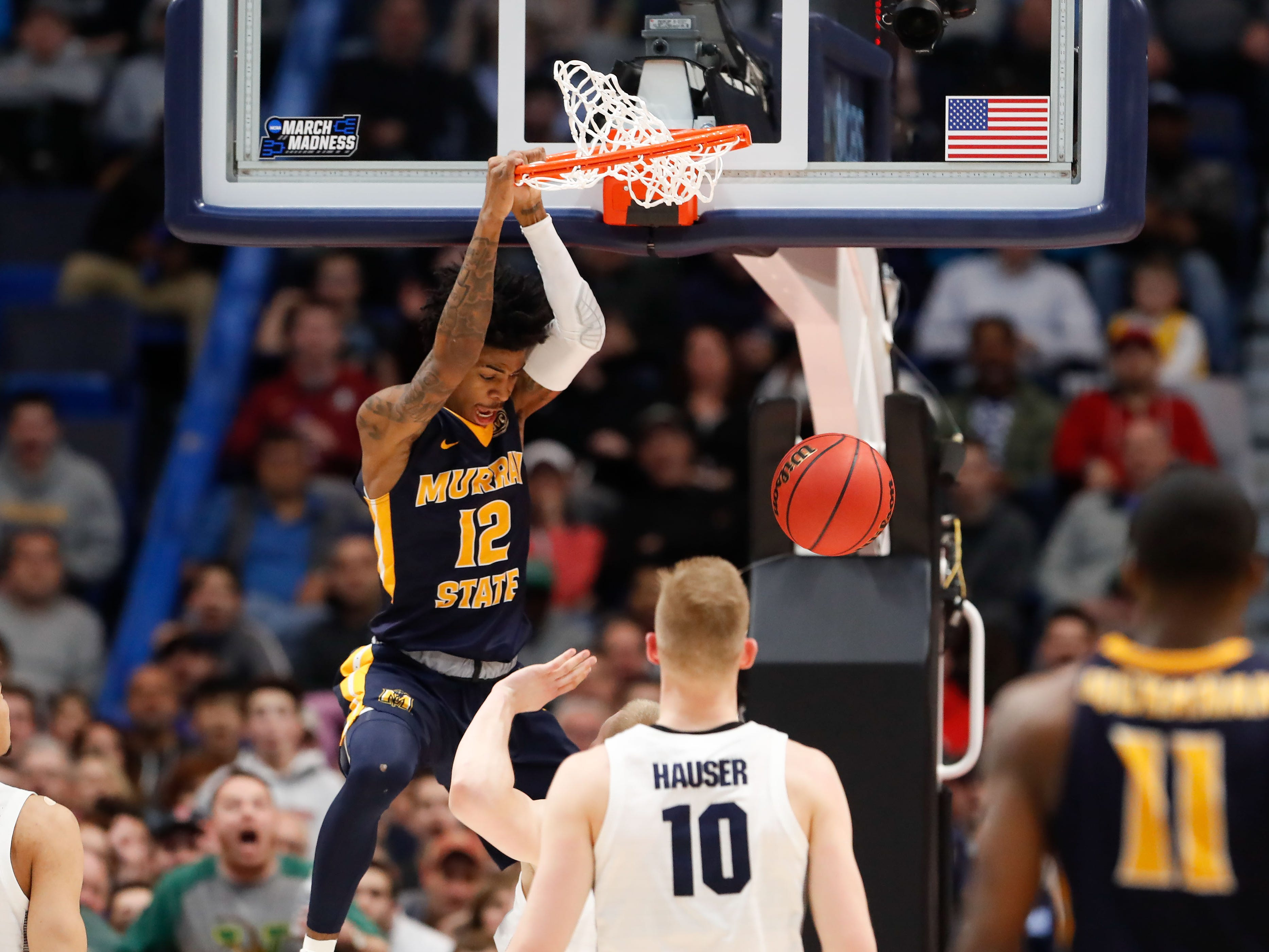 Ja Morant is one of best dunkers in the NCAA tournament. Three years ago, he could barely dunk.