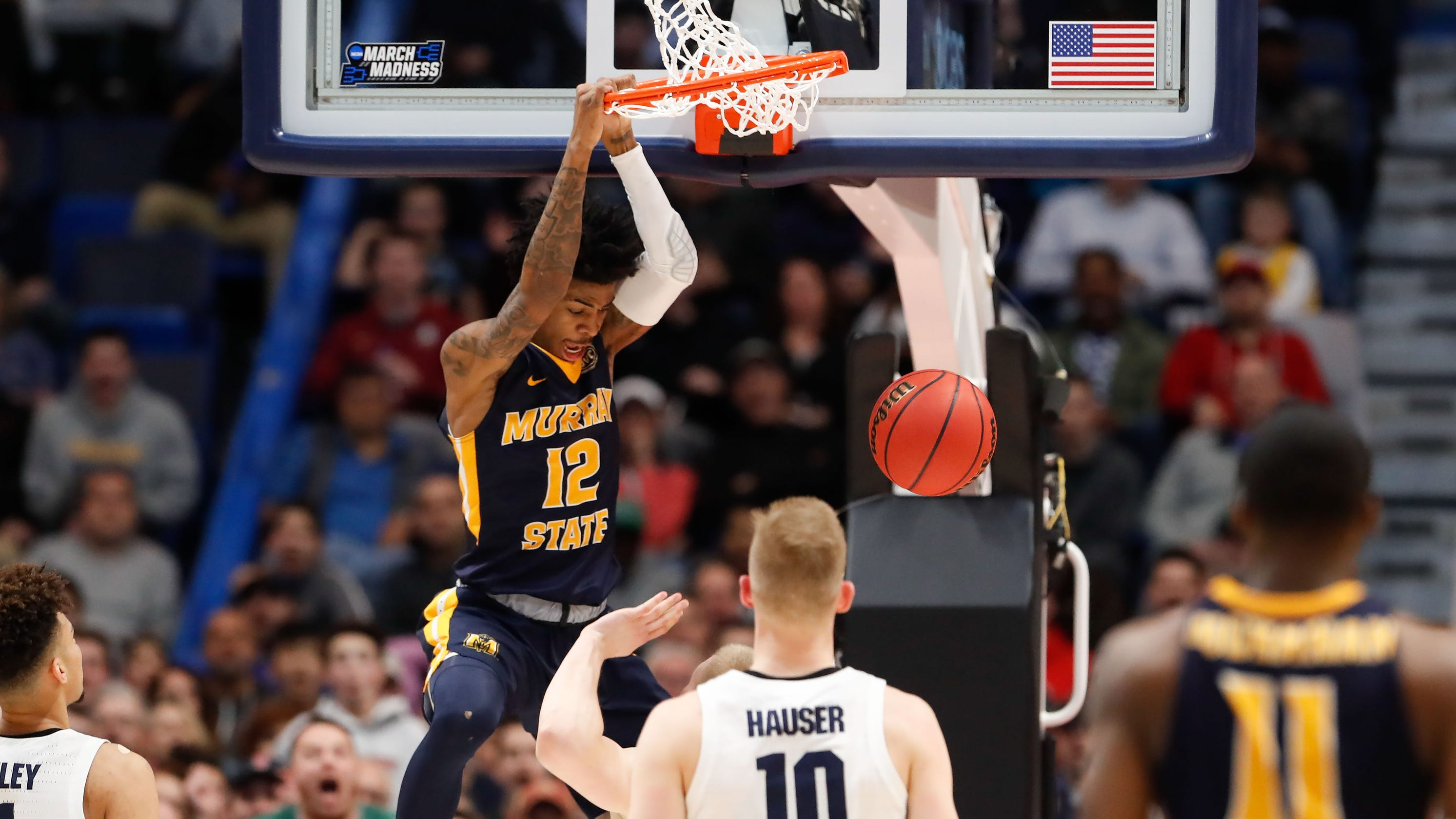 814c265929cd08 NCAA tournament  Murray State s Ja Morant couldn t dunk in high school
