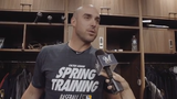 Travis Shaw talks about opening day and working against lefties