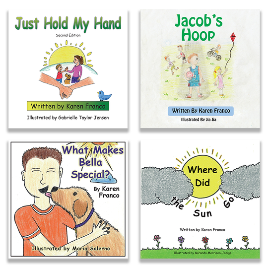 Karen Franco has written four picture books so far about children with special needs.