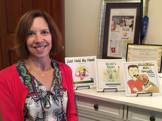 Karen Franco writes picture books about her experiences with her son, Jacob, who has special needs.