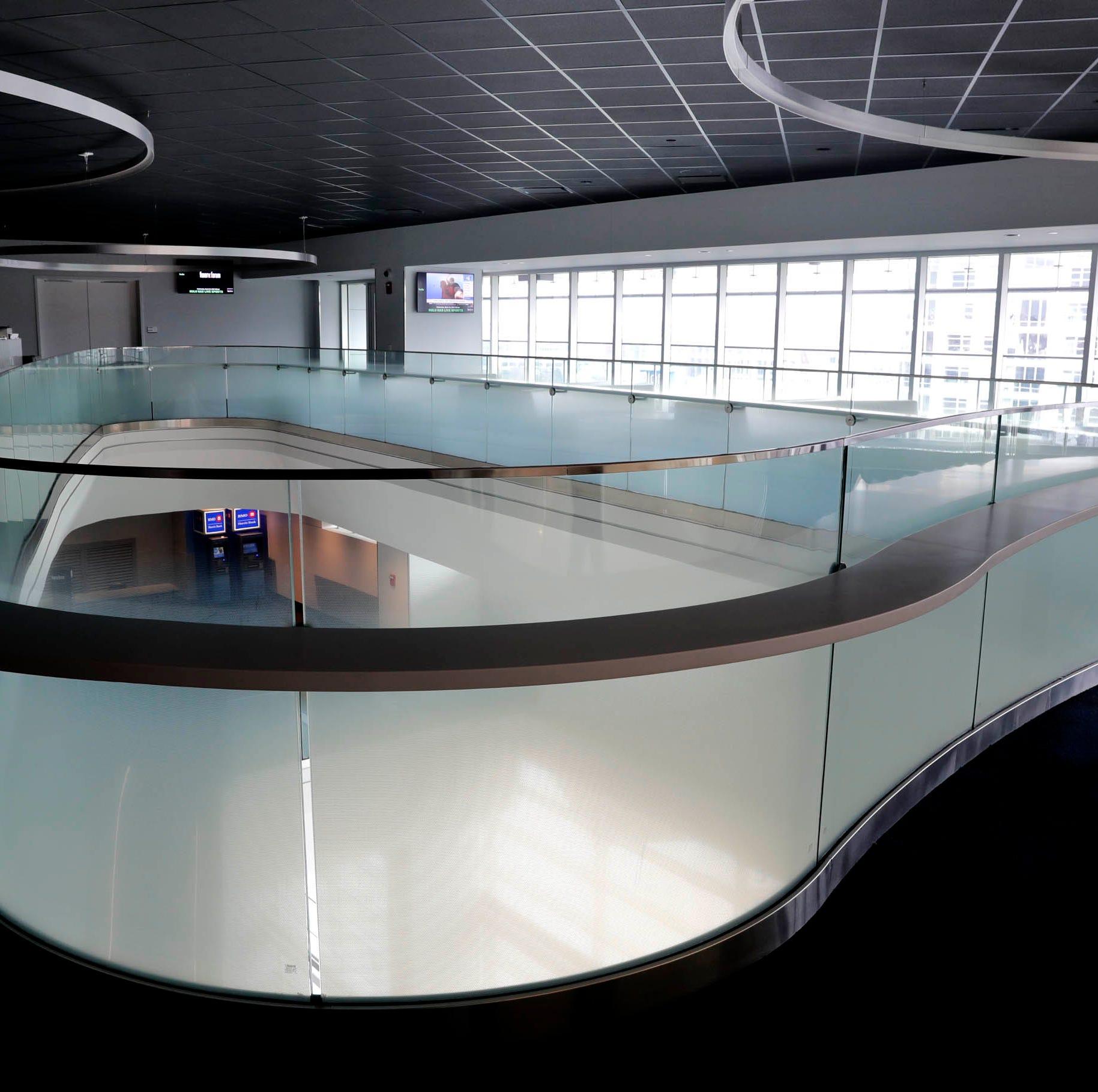 Milwaukee Bucks to replace 3,000 cup holders, make Fiserv Forum atrium a little less dizzying