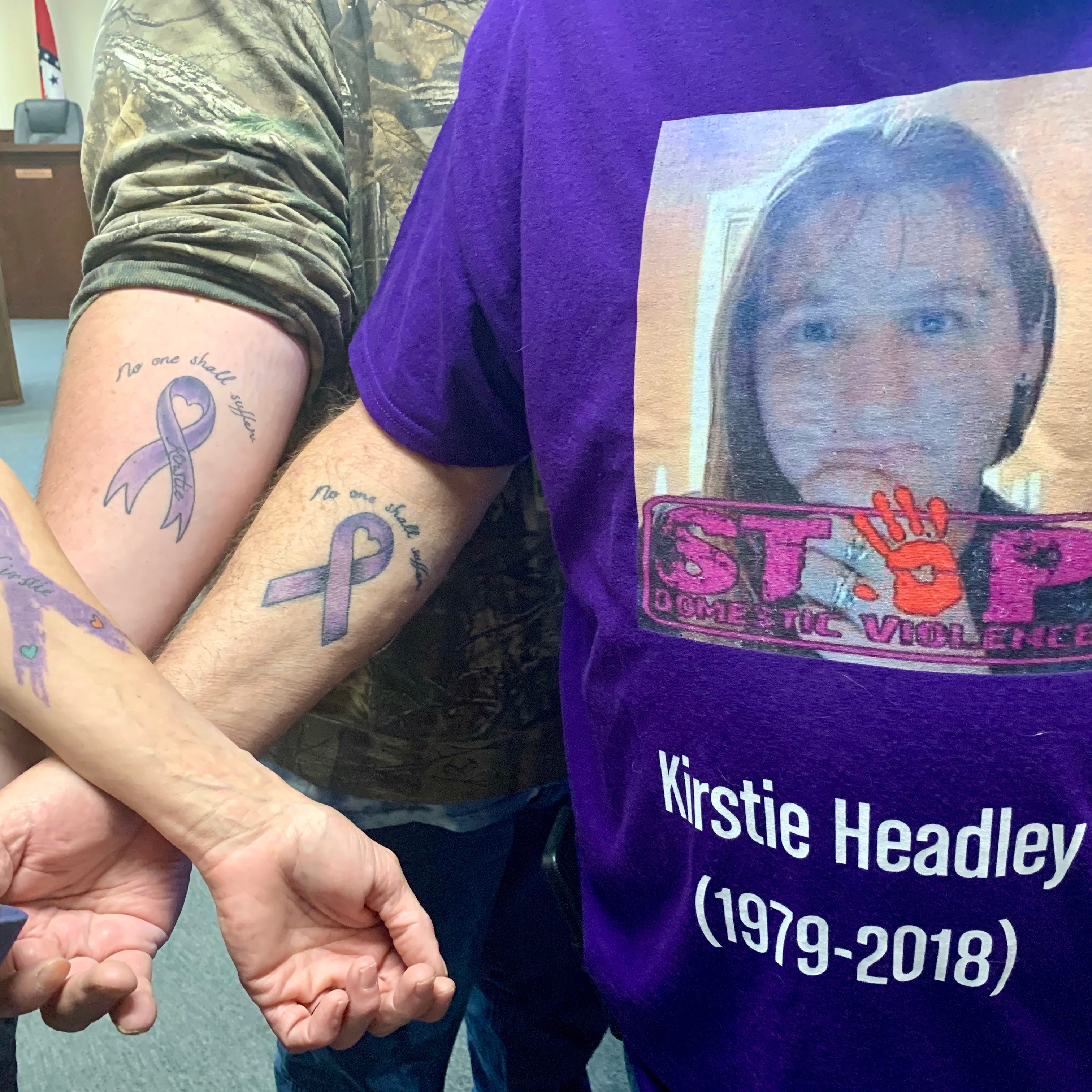 Domestic violence victim remembered