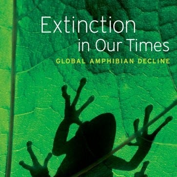 Lecture, book signing by amphibian ecologist is April 1