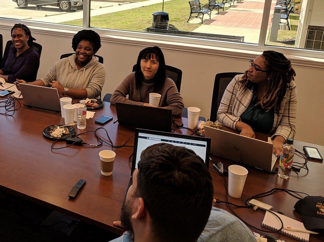 Computer Science, Cyber Engineering programs present workshop for undergraduate women