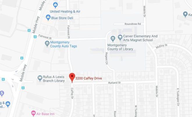 A man suffered a serious gunshot wound in the 3200 block of Caffey Drive.