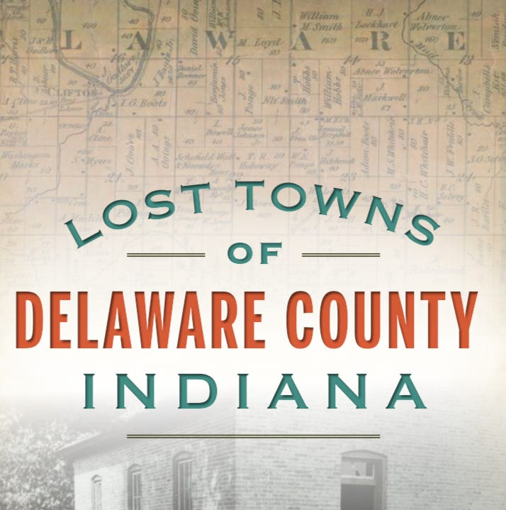 Friends and Neighbors: Local author to sign copies of 'Lost Towns of Delaware County""