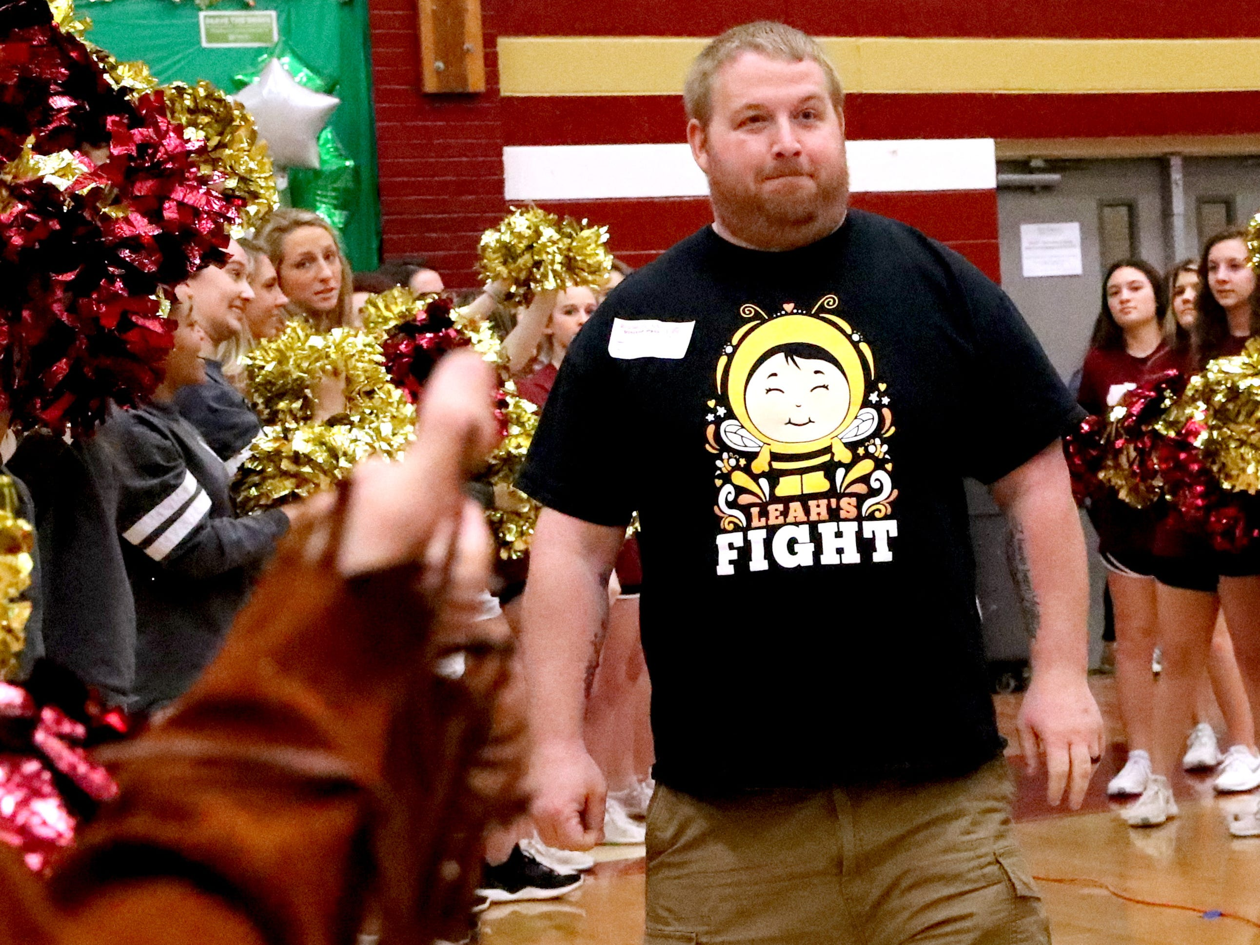 Riverdale High School held its sixth annual Brave the Shave fundraiser to benefit St. Baldrick's Foundation on Thursday, March 21, 2019. The organization raises funds and awareness for childhood cancer.