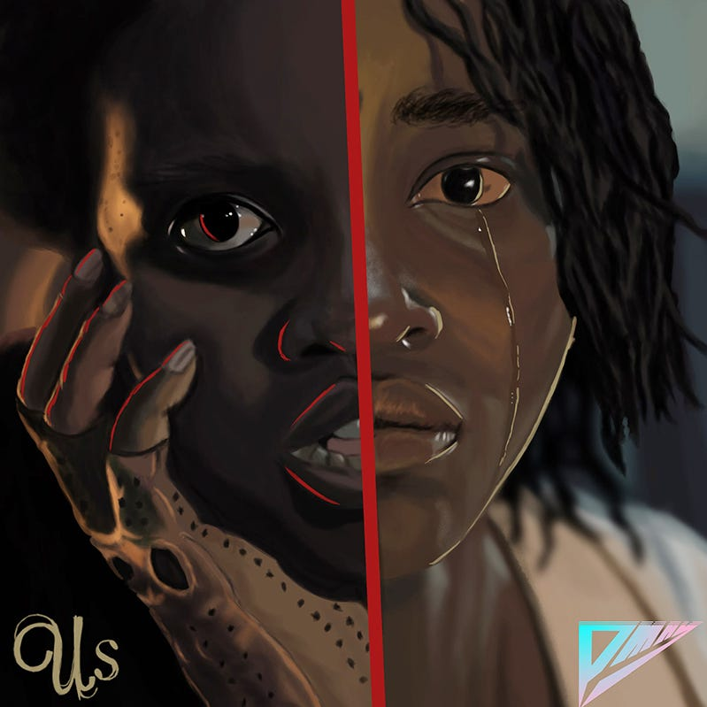 MTSU student's artwork a hit with 'Us' director Jordan Peele