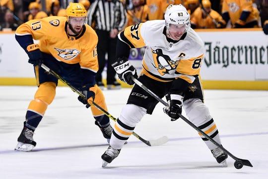 Penguins center Sidney Crosby.