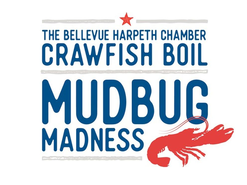 April 13 MUDBUG MADNESS CRAWFISH BOIL: 11 a.m.-3 p.m. Plantation Pub, Bellevue, $25-$30, bellevueharpethchamber.com