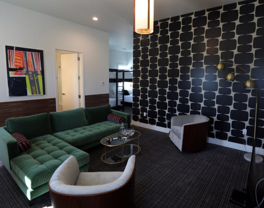 Rooms at Vandyke Bed + Beverage start at $329 per night, and some are connected so larger parties can book adjoining rooms.