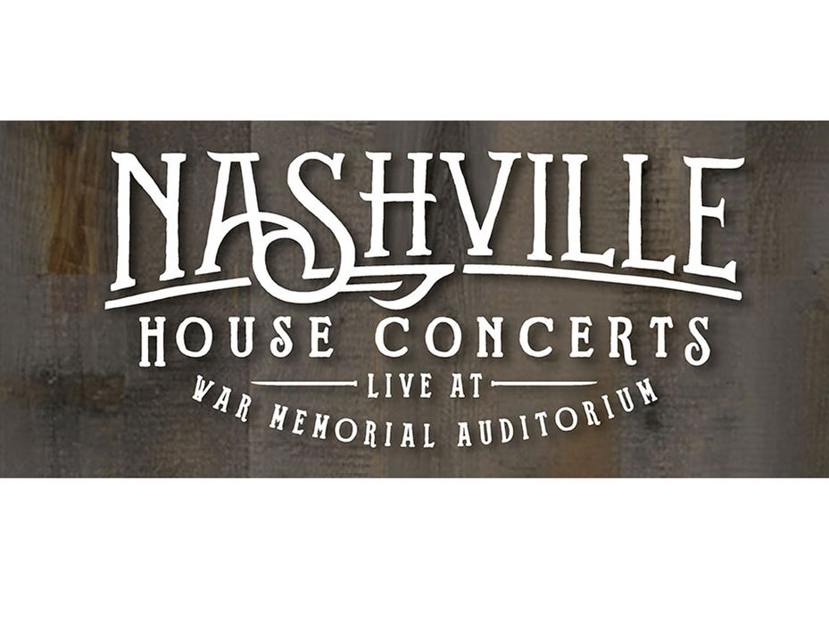 April 4NASHVILLE HOUSE CONCERT: 7 p.m. War Memorial Auditorium, $30, tpac.org