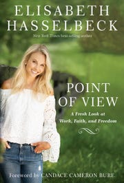 """The cover for Elisabeth Hasselbeck's book """"Point of View: A Fresh Look at Work, Faith, and Freedom,"""" released March 26"""