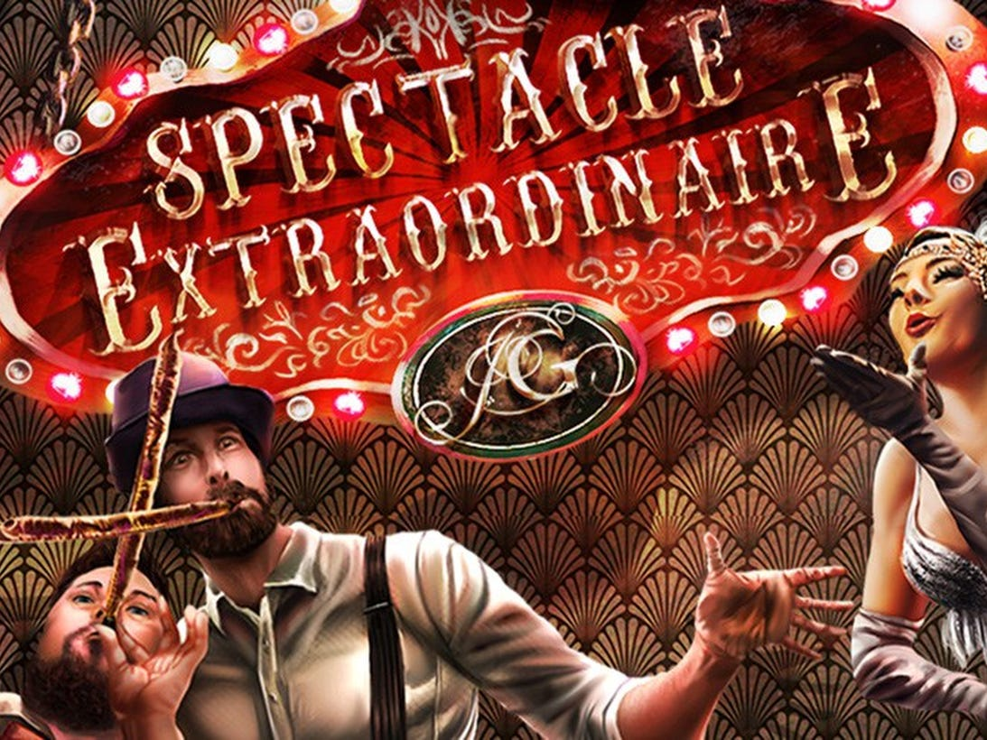 April 26 PARTY LIKE GATSBY PRESENTS SPECTACLE EXTRAORDINAIRE: 9 p.m. War Memorial Auditorium, $41, tpac.org