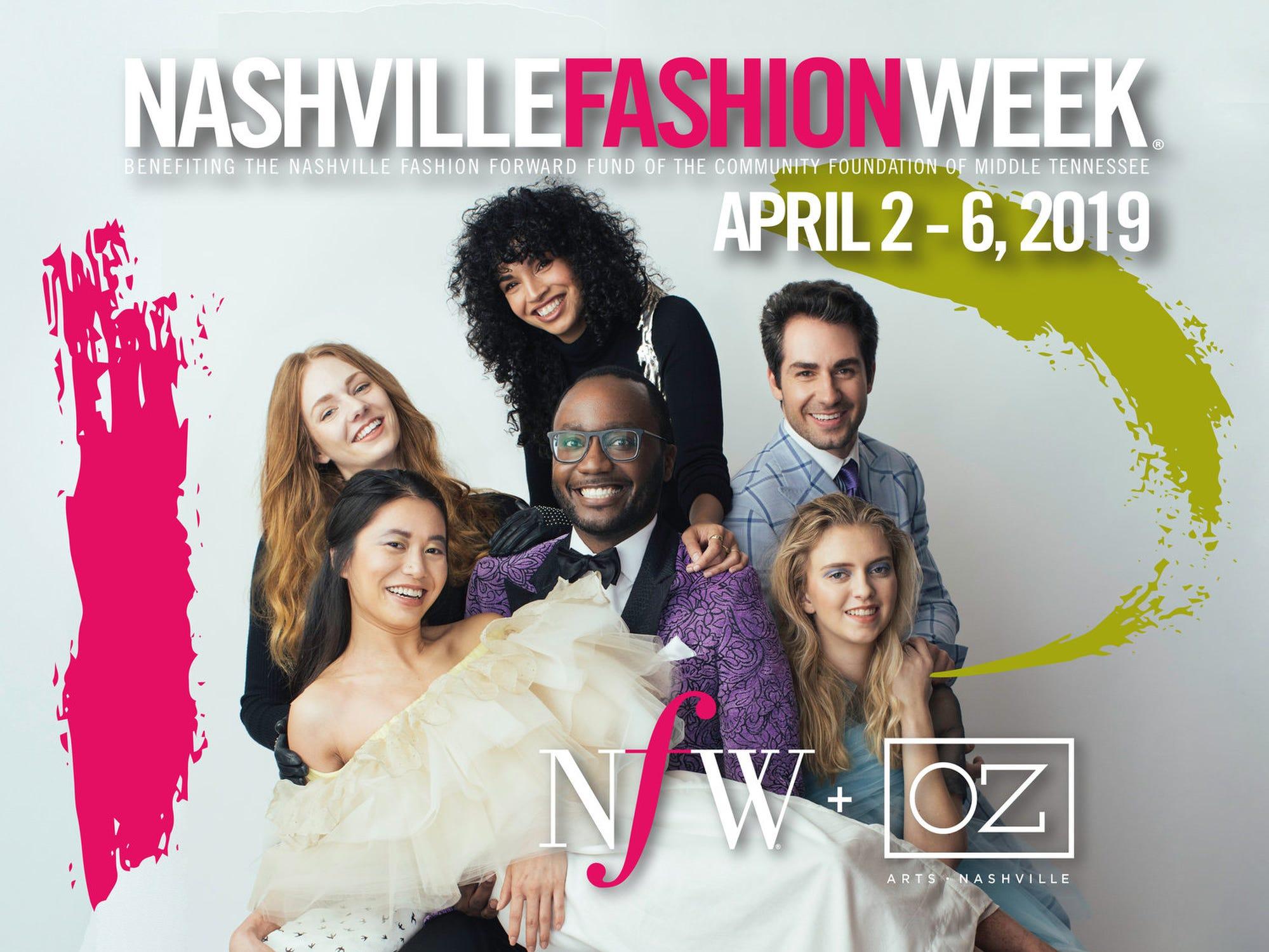 April 2NASHVILLE FASHION WEEK: Various events and venues in Nashville through April 6, nashvillefashionweek.com
