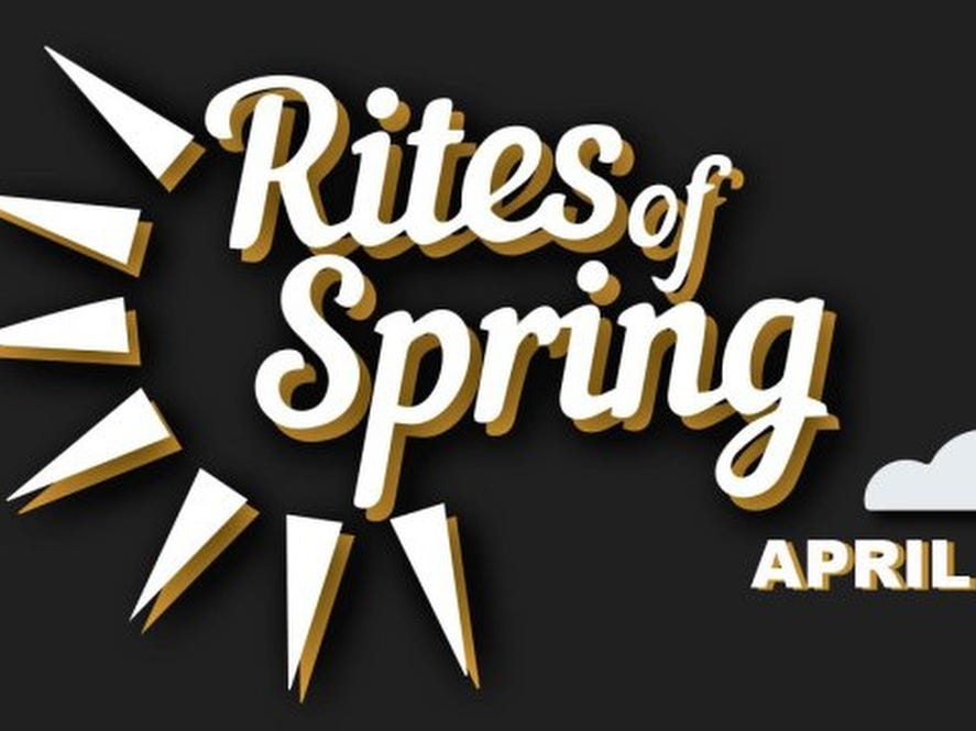 April 12 RITES OF SPRING MUSIC FESTIVAL: Through April 13, Vanderbilt University Alumni Lawn, $35-$50
