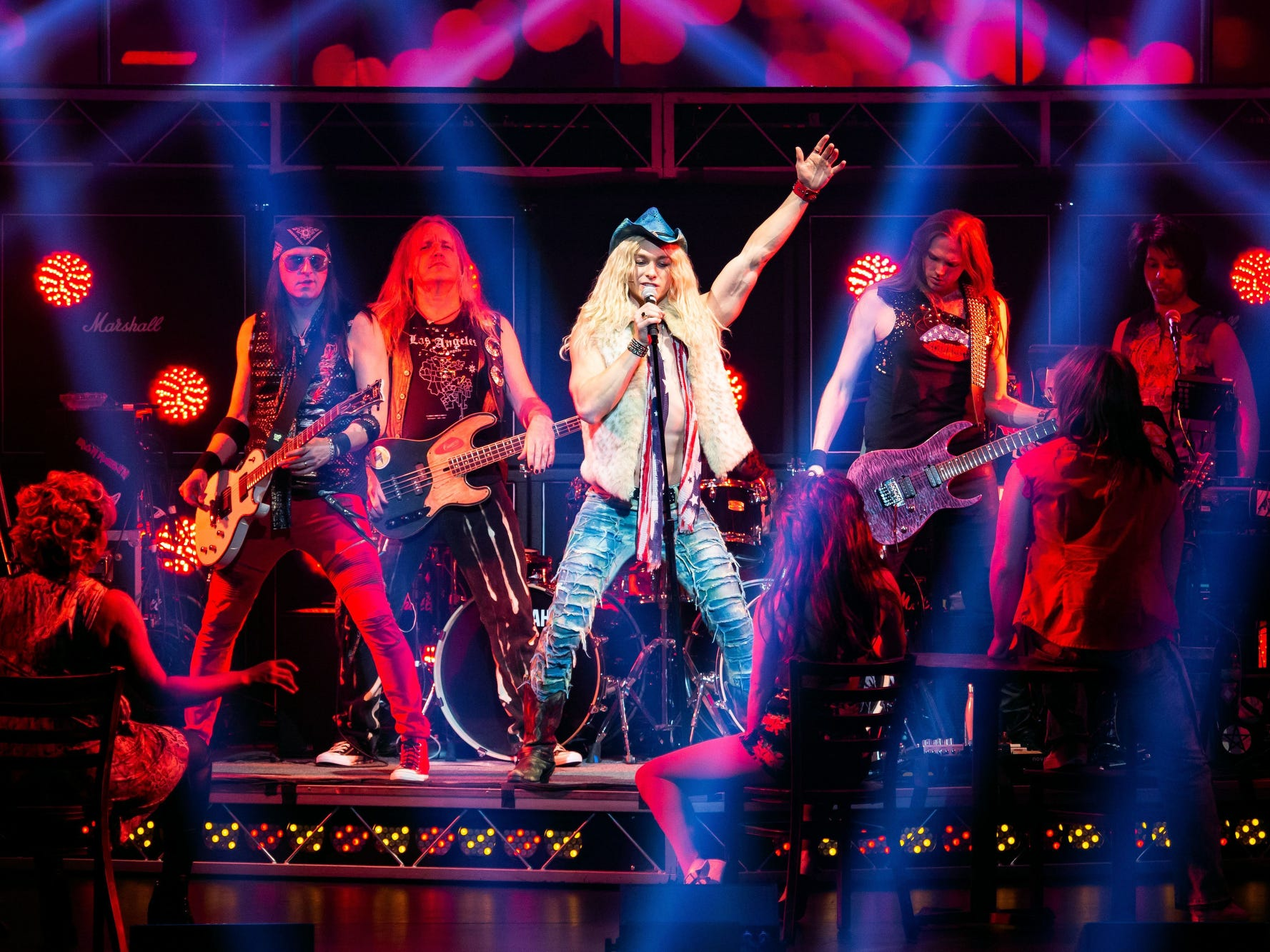 April 12 ROCK OF AGES: Through April 13, Tennessee Performing Arts Center, $30-$65, tpac.org