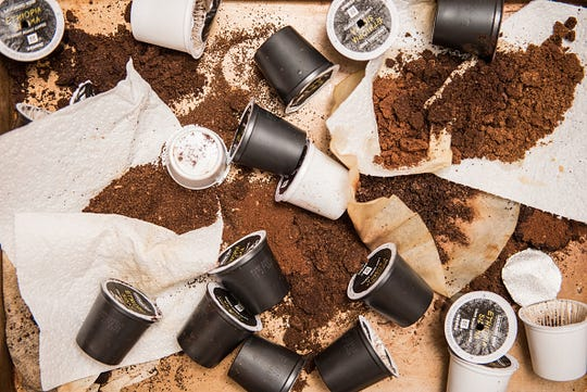Reduce the use of single-use K-Cups by purchasing a resusable version made of BPA-free and eco-friendly stainless-steel.