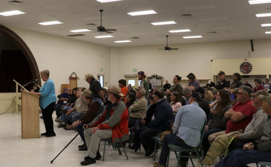 Aztec residents asked the City Commission, Tuesday, March 19, 2019, to consider a Second Amendment Preservation City resolution. The City Commission will discuss this resolution during its Tuesday meeting.