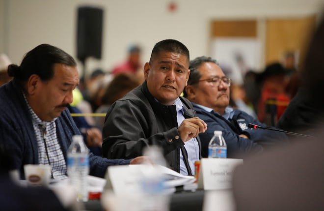 Delegate Otto Tso talks about financial consequences the tribe faces after the Navajo Generating Station closes in December.