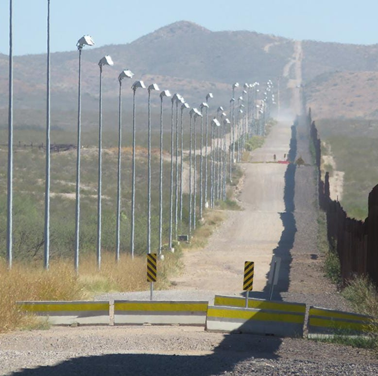 Border wall is essential for our security: Column