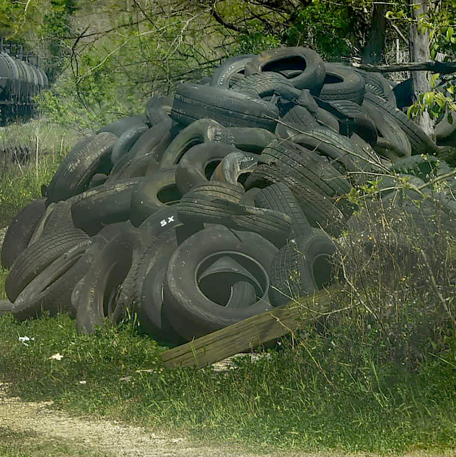 Opelousas trying to clean up illegally dumped tires