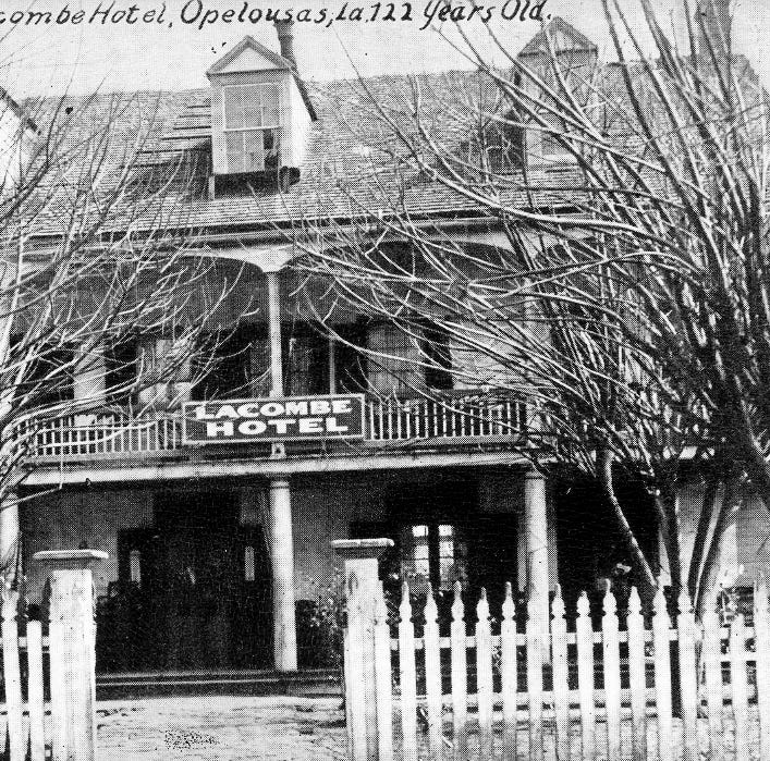 A shooting at the old Lacombe Hotel in 1893