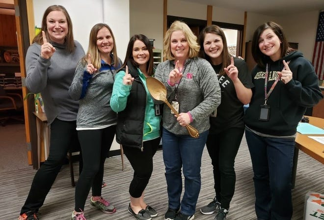 The Counseling Department was voted as this year's favorite chili at the 6th Annual Ann Davey Chili Cook-off.
