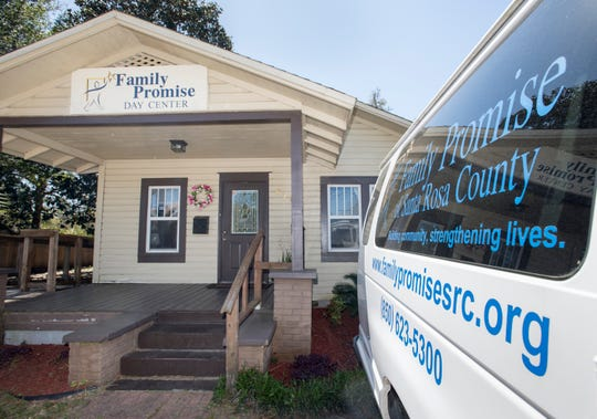 Exterior of the Family Promise of Santa Rosa County's Day Center in Milton, on Friday, March 22, 2019.  A group of volunteers is working to a establish an Escambia County chapter of Family Promise, an interfaith ministry that helps provide housing, skills training and support to homeless families.