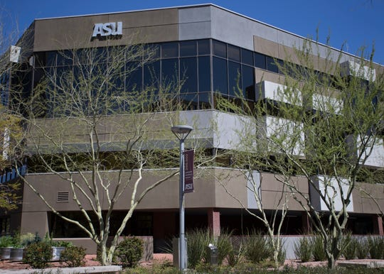 The Arizona State University College of Nursing and Health Innovation is seen here in Phoenix Ariz. on the on Fri, March 22, 2019.