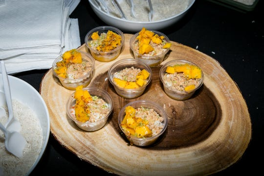 Muse Market's vegan mango arroz con leche was phenomenal at Devour the World at the Japanese Friendship Garden on Thursday, March 21, 2019.