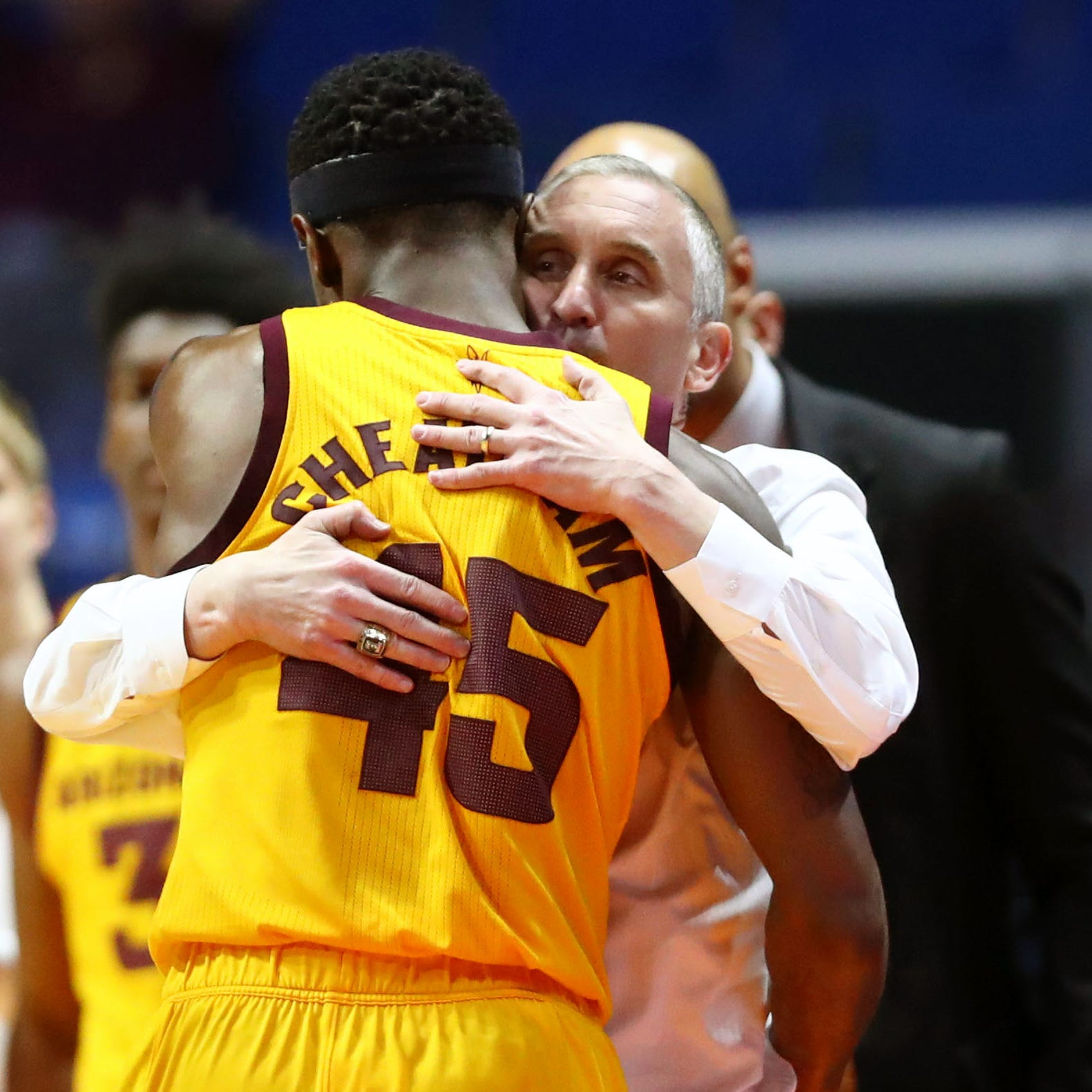 Cheatham says goodbye, Dort's future unknown after ASU's NCAA tournament loss to Buffalo