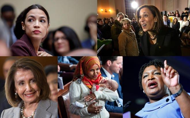 En plena ola feminista impulsada por el #MeToo, las mujeres han abanderado la oposición al presidente estadounidense, Donald Trump.