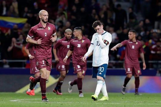 Lionel Messi no pudo guiar a su selección a la victoria
