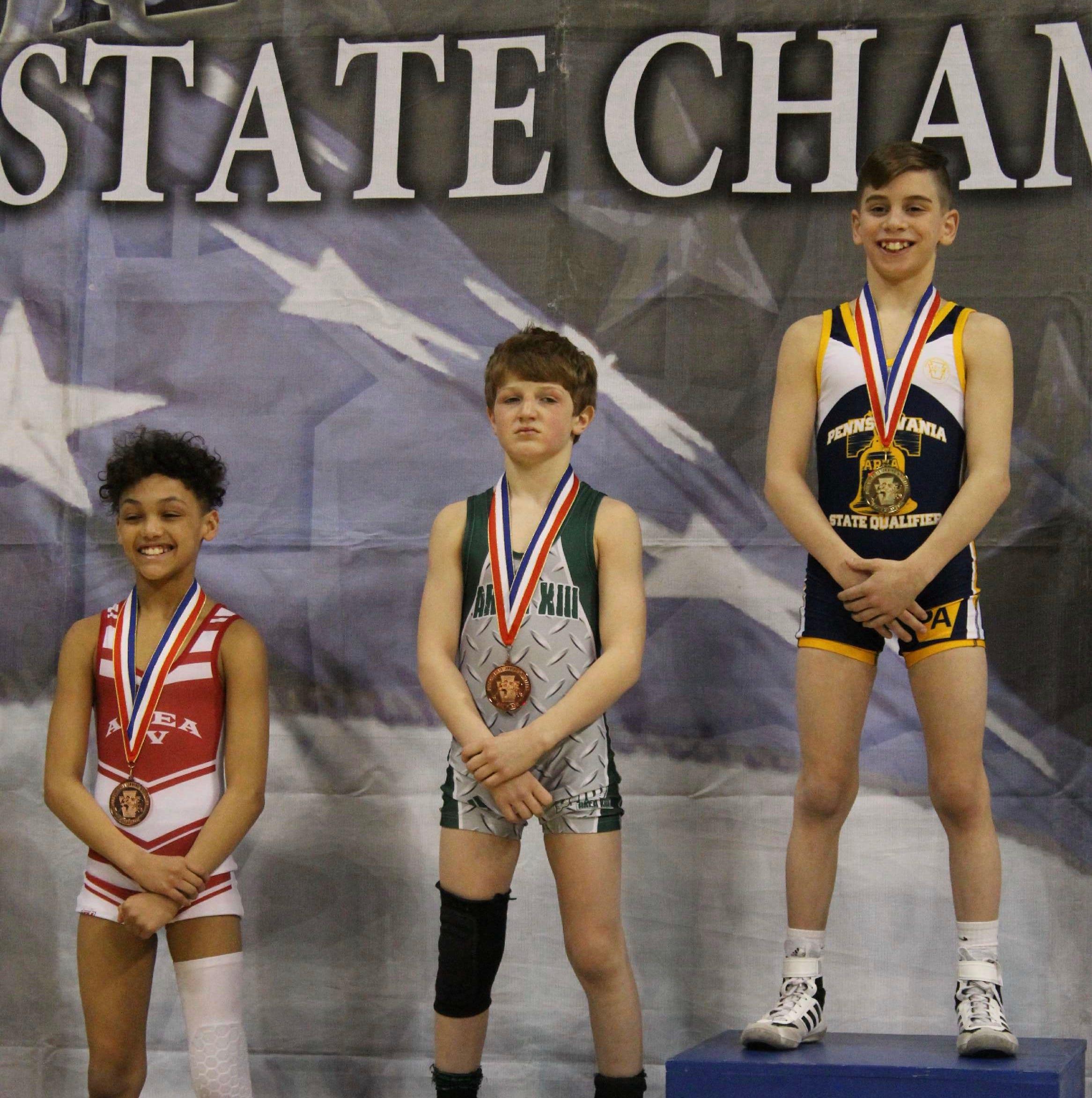 Local youth wrestlers shine at junior state championships