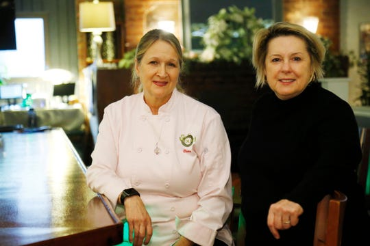 The Would co-owners, from left, Claire Winslow and Debra Dooley at the restaurant's bar in Highland on March 21, 2019.