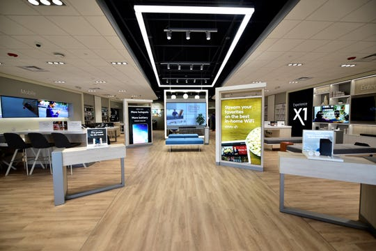 Inside the new Comcast Xfinity store at 935 Norland Ave., Chambersburg, pictured Friday, March 22, 2019, customers can learn about and interact with products and services, including phones, the X1 home entertainment system, home security and automation programs and more.