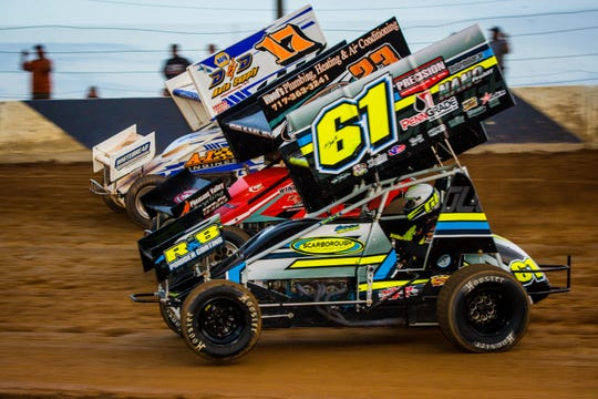 Racers compete at Path Valley Speedway