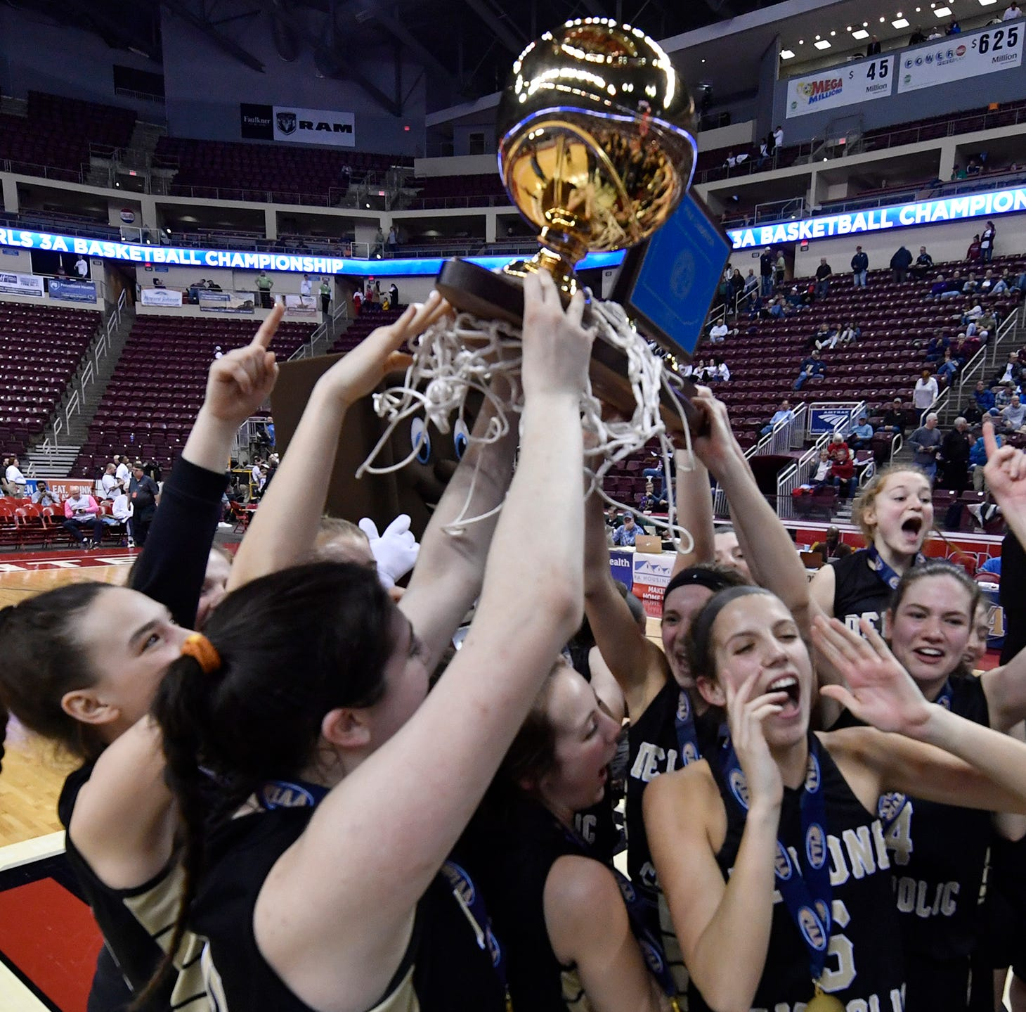Delone Catholic girls pull off stunning upset in PIAA Class 3-A state title game